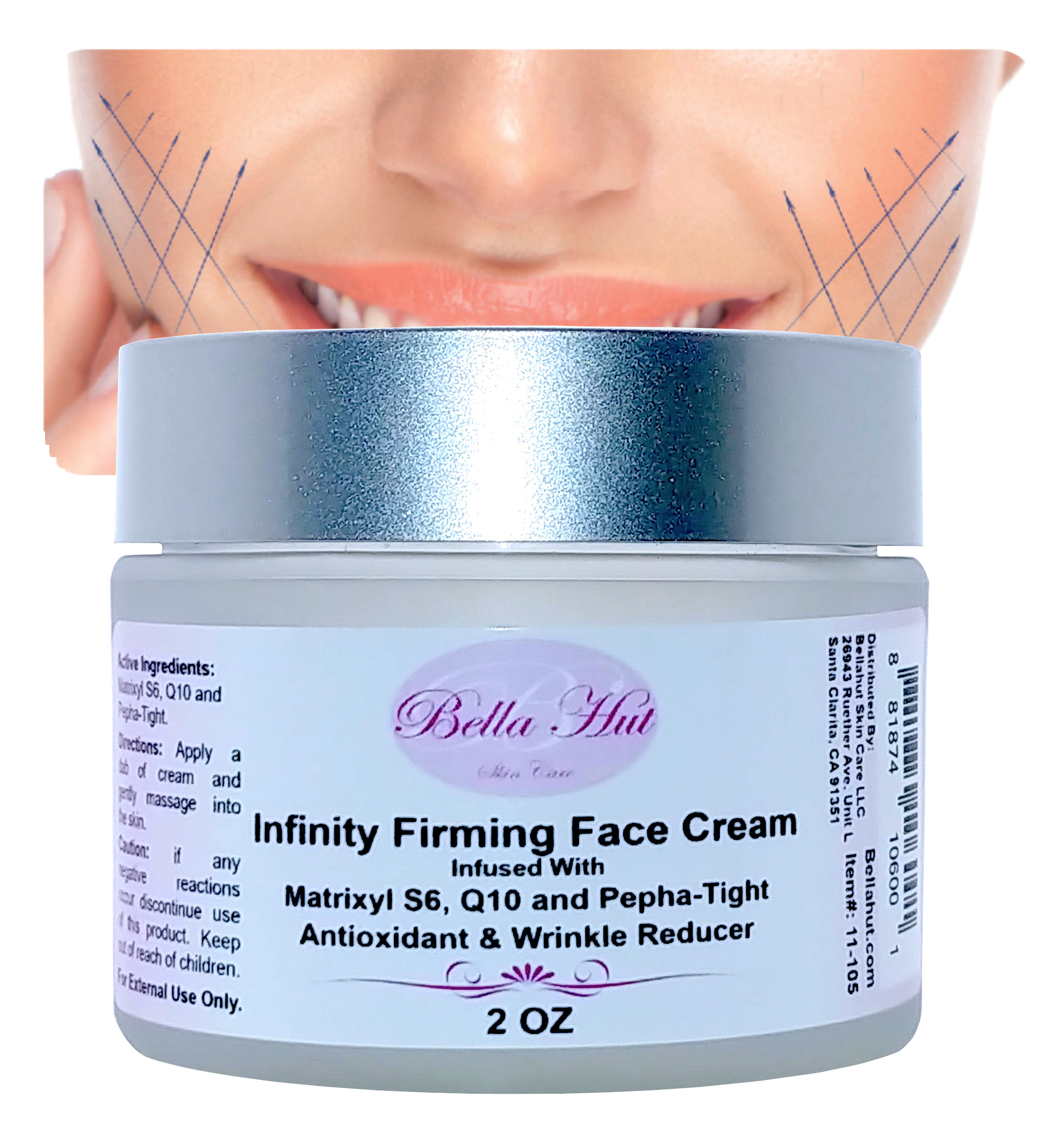 Anti Aging Cream with Matrixyl S6, Q10 And Pepha-Tight