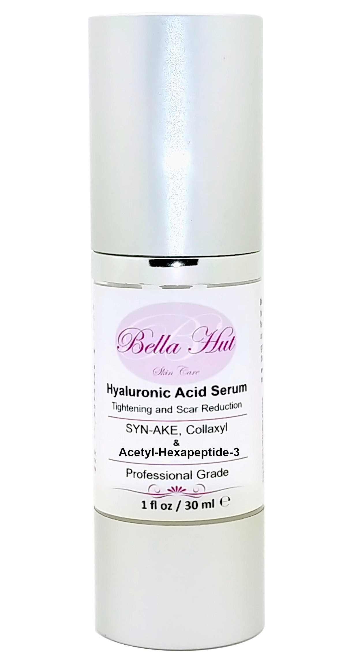 100% Hyaluronic Acid Serum with Syn-Ake Collaxyl and Acetyl hexapeptide-3