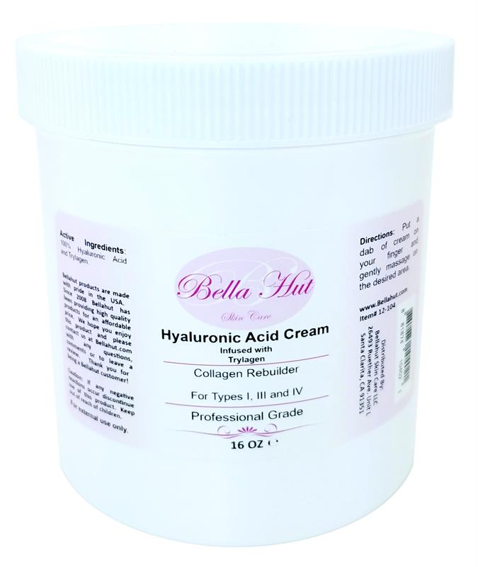 HYALURONIC ACID CREAM with Trylagen