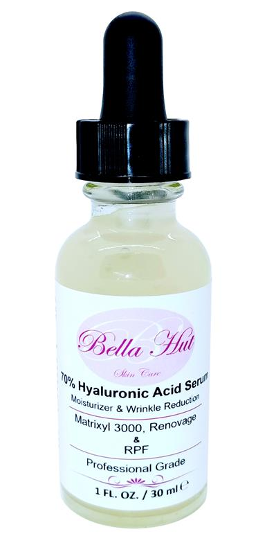 /Cellular Repair 70% Hyaluronic Acid with Renovage, Matrixyl 3000 And RPF that removes fine lines and moisturizes skin