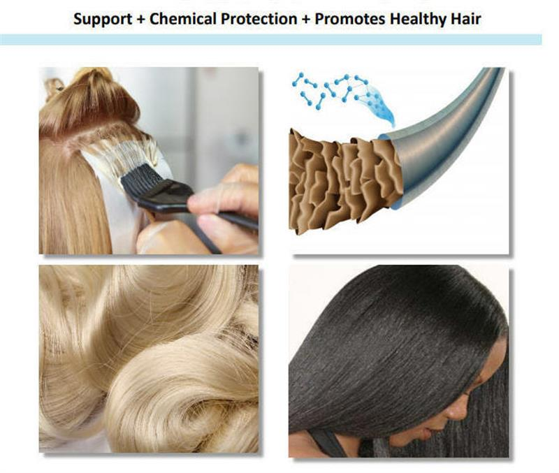 Bellahuts concentrated hair shield peptide additive for mixing cream or serum
