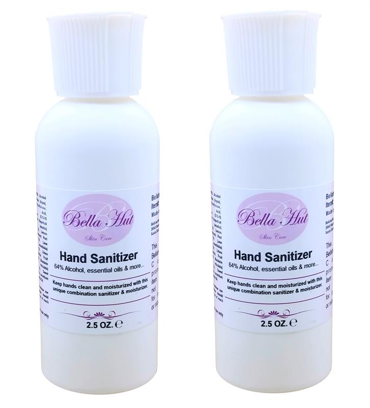 Combination of hand sanitizer and sanitizing spray