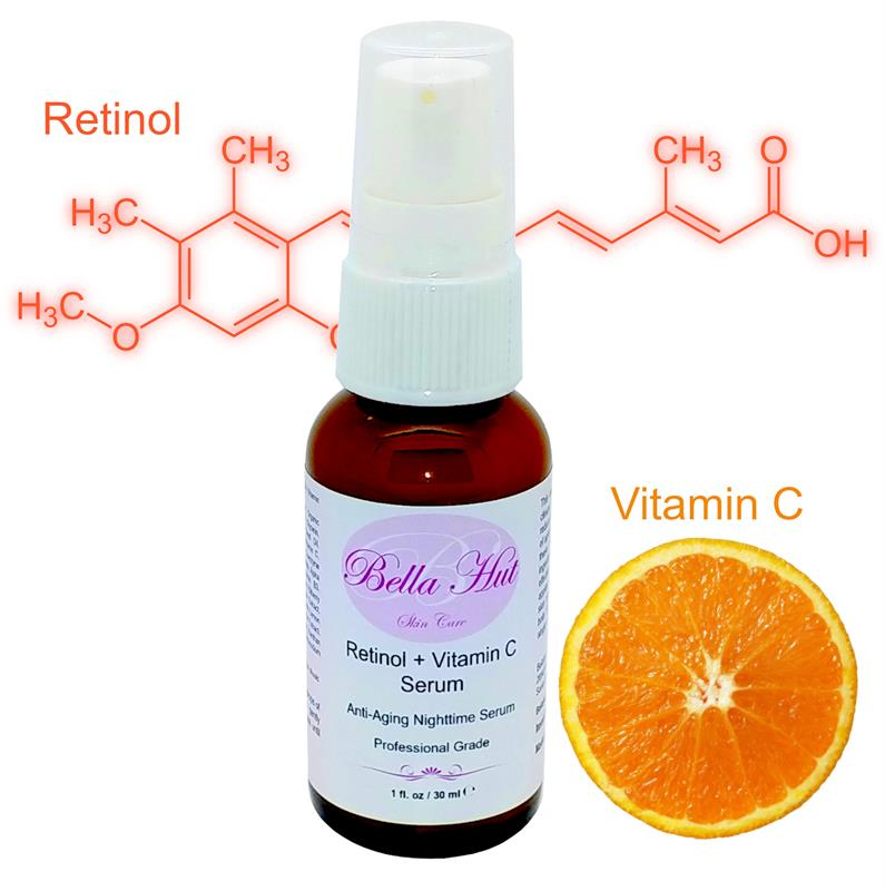 /Bellahut Retinol Plus Vitamin C Serum For The Reduction of Wrinkles And Helps Fight Signs Of Aging