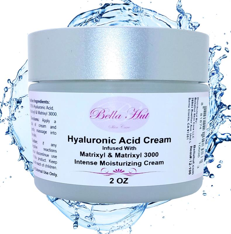 /100% Hyaluronic Acid Cream with Matrixyl and Matrixyl 3000