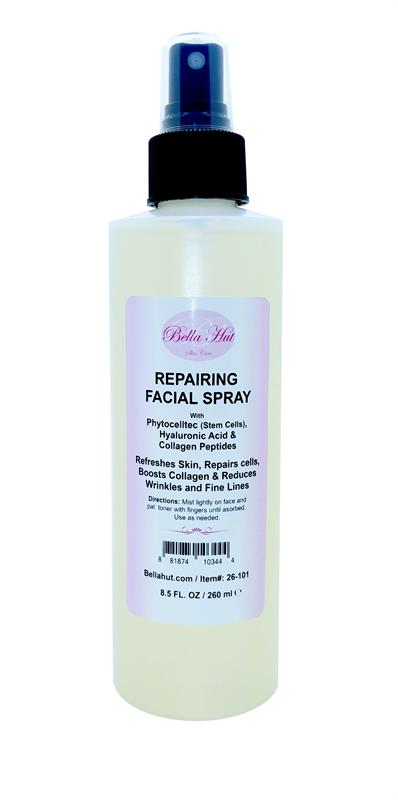 /Repairing Facial Spray with Phytocelltec, Hyaluronic Acid And Tripeptide-29 Collagen Peptide helps to repair cells