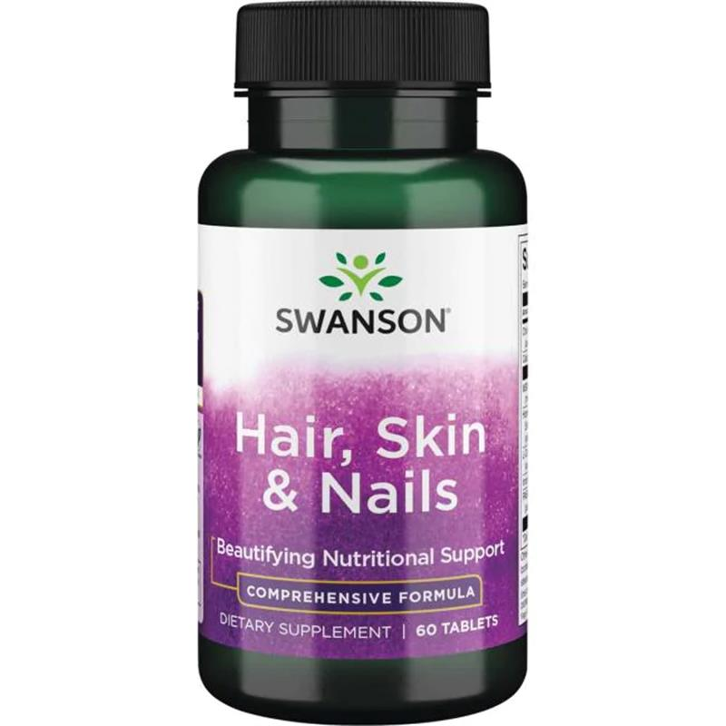 /Swansons Premium Hair, Skin & Nails Supplement