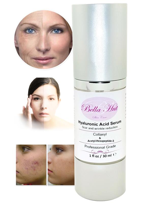 /100% Hyaluronic Acid Serum with Collaxyl and Argireline