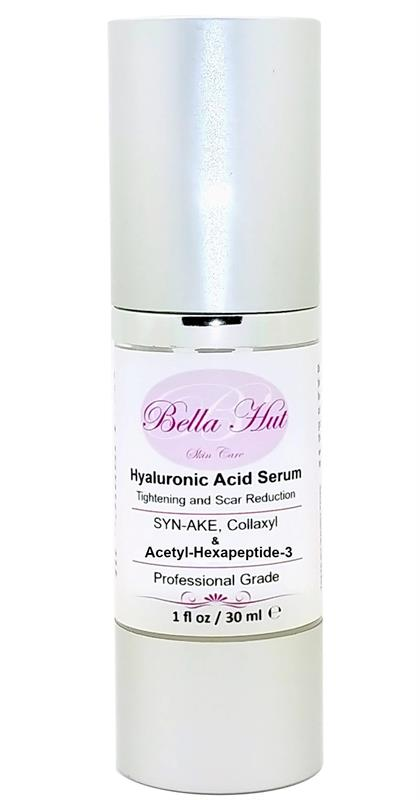 /100% Hyaluronic Acid Serum with Syn-Ake Collaxyl and Acetyl hexapeptide-3