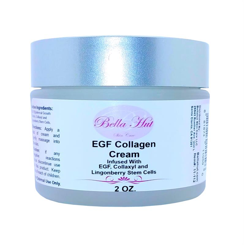 /Bellahut's EGF Collagen Cream with Collaxyl, EGF and Lingostem Stem Cells Active Peptides