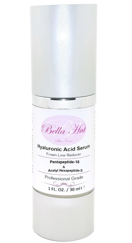 /100% Hyaluronic Acid Serum with Pentapeptide-18 and Acetyl hexapeptide-3