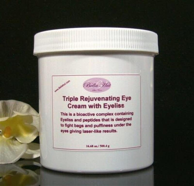Triple Rejuvenating Eye Gel with Eyeliss for treating under eye bags and puffiness under eyes