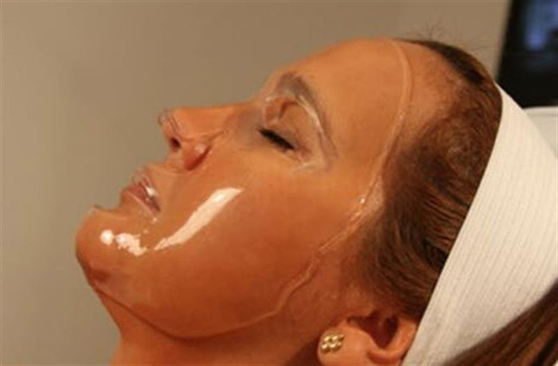 Collagen Gel Face Mask with Hyaluronic Acid And Green Tea Polyphenols