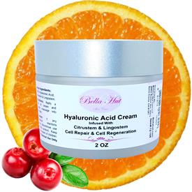 100% Hyaluronic Acid Cream with Citrustem and Lingostem